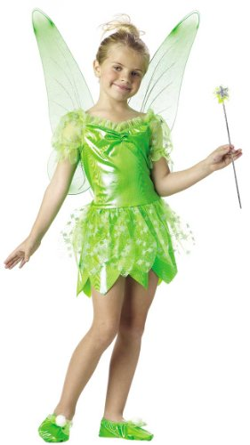 Child's Tinkerbell Fairy Costume (Size:Large 10-12)