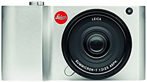 Leica 018-181 T 16 MP Compact System Camera with 3.7-Inch LCD Silver, Anodized Aluminum