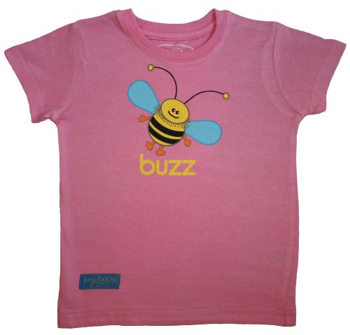 Buzz T-Shirt - Rosy Pink (Size 3T)