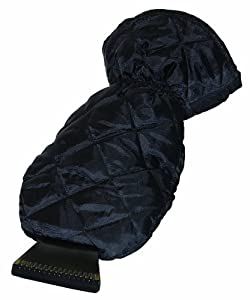 Bags For Less Deluxe Lined Ice Scraper Glove Mitt, Black by Bags for LessTM at Sears.com