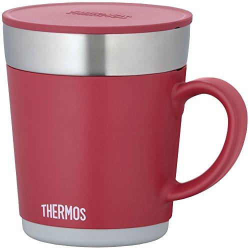 THERMOS 保温マグカップ 350ml レッド JDC-350 R
