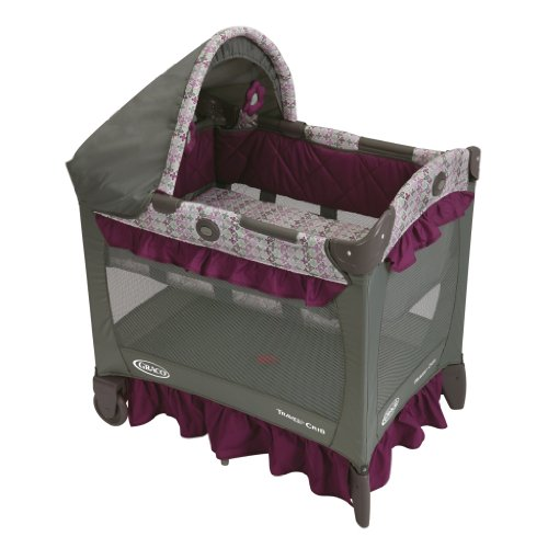 Graco travel lite bassinet crib portable baby playard pack for Portable bassinet