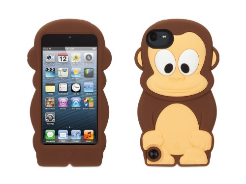 Griffin Monkey KaZoo Case for iPod Touch 5th/ 6th gen - Fun animal friends for iPod touch (5th/6th gen) (Ebay Ipod 5 compare prices)