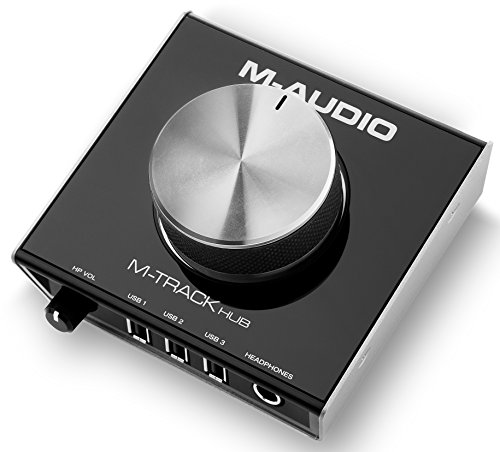 m-audio-m-track-hub-interface-usb-de-monitoring-24bits-avec-3-ports-alimentes-integres