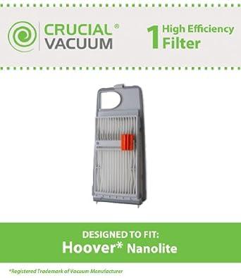 Hoover Vacuum Nano-Lite Filter Part # 40110013, Designed & Engineered by Crucial Vacuum