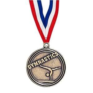 Amazon.com : Gymnastics Medal with Ribbon : Sports & Outdoors