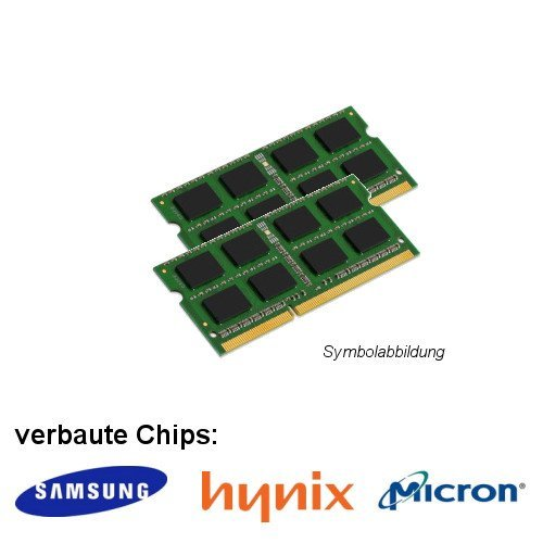 4GB (2x 2GB) DDR2 800MHz (PC2 6400S) SO Dimm Notebook Laptop Arbeitsspeicher RAM Memory Samsung Hynix Micron