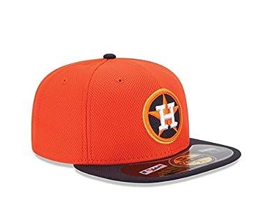MLB Houston Astros Men's Authentic Diamond Era 59FIFTY Fitted Cap, 814, Orange