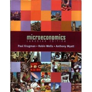 Microeconomics: Canadian Version