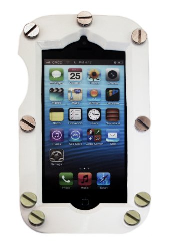 Special Sale Shockcase White Industrial iPhone 5 Case