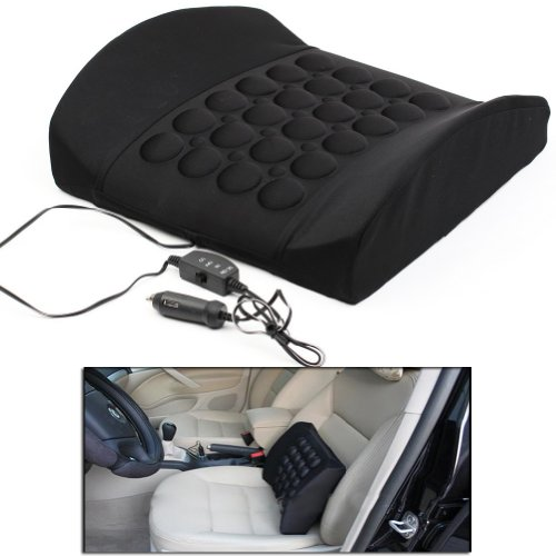 Neewer® Car Auto Dc 12V Back Seat Low Electric Massage Cushion Vibrating Waist Pad front-912426