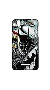 Angree Bat Man Case For Micromax Yureka