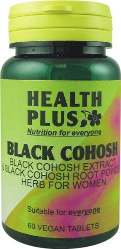 Health Plus Black Cohosh : Women's health plant supplement : 60 tablets