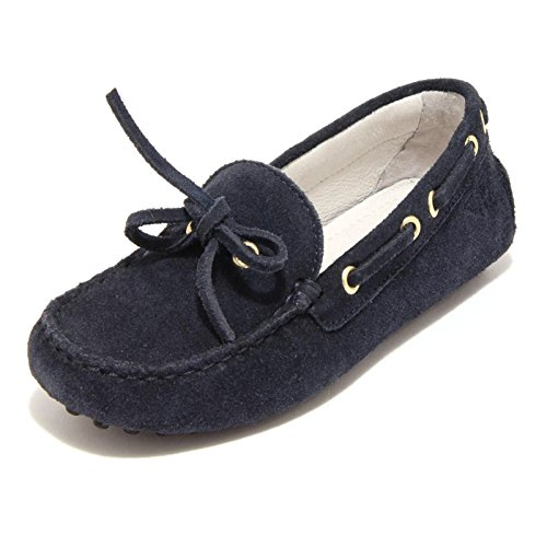 5874F mocassino blu DOCKSTEPS SC BAS CITY VELOUR scarpa bimbo shoes kids [29]