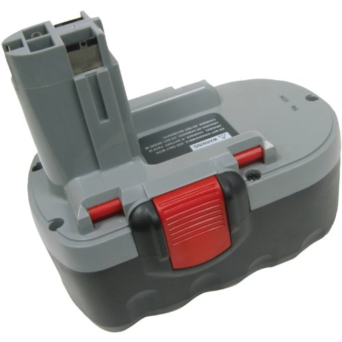 Replacement Battery For Bosch Works With Bosch 2 607 Series, Bat180 front-361028