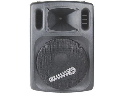 Audiopipe 15 Dj Speaker, Built In Amp, 500 W Max