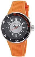 Philip Stein Men's 34-BRG-RO Extreme Orange Rubber Strap Watch by Philip Stein