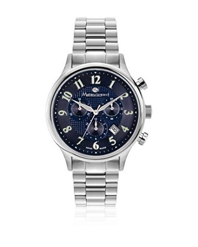 Mathieu Legrand Reloj de cuarzo MLG-1100A Plateado 42 mm