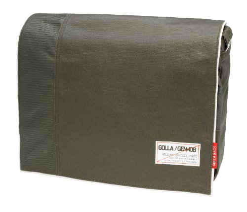 Golla Meadow Army G-Bag for 14-Inch Laptops, Green (G1295)