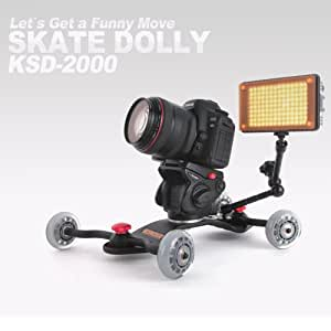 Konova Dslr Video Slider Table Camera Dolly Ksd 2000