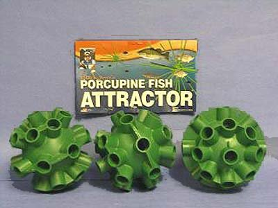 Cedars bill dance porcupine fish attractor spheres 3 pack for Porcupine fish attractor