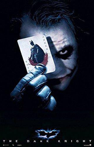 Batman - Il Cavaliere Oscuro, Joker Card Poster (98 x 68cm)