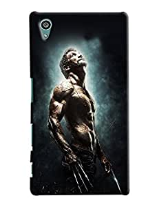 Blue Throat Man With Body Printed Designer Back Cover/ Case For Sony Xperia Z5