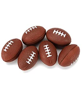 Foam Balls 31mm 6/Pkg-Football