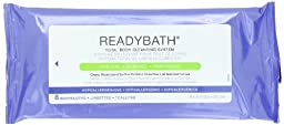 Readybath Complete Wipes, 8 Count (Pack of 30)