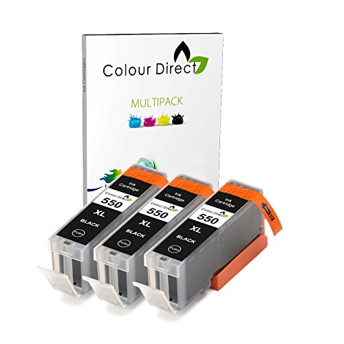 3-x-schwarz-colour-direct-kompatible-tintenpatronen-ersatz-fur-canon-pgi-550xl-schwarz-works-with-ca