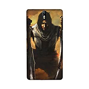 OnePlus One Perfect fit Matte finishing Prince of Persia Cartoon Mobile Backcover designed by Aaranis(Multicolor)