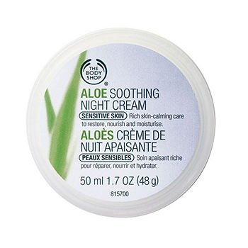 The Body Shop Aloe Vera Soothing Night Cream, 1.7 Ounce