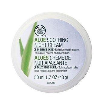 The body shop aloe soothing night cream 1.7oz