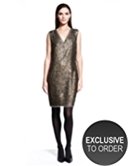 Autograph Sequin Embellished Shift Dress