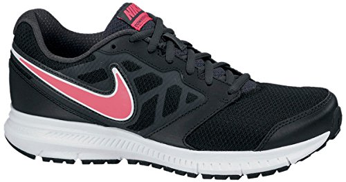 9831a0f59d022 Nike Women s Downshifter 6 Black Hyper Punch Anthracite Running Shoe 9 Women  US