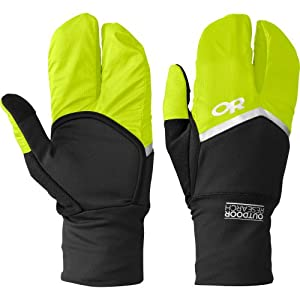 Buy Outdoor Research Hot Pursuit Convertible Running Gloves by Outdoor Research