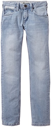 Teddy Smith - Round Jr Leg, Jeans da bambini e ragazzi, blu(bleu (bleached)), taglia produttore: 14