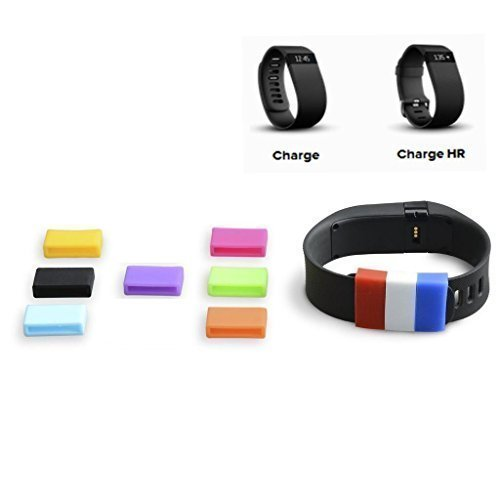The DigiHero 10 Colors Silicone Fasteners for FITBIT Charge / FITBIT Charge HR Wristband (10 pcs / pack ) Model: DH150002 by Outdoor Sport