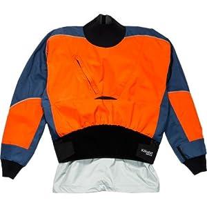 Kokatat Hydrus 3L Stoke Drytop - Men's Jackets MD Tangerine/Denim