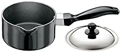 Hawkins Futura Non-Stick Sauce Pan with Lid, 1 Litre