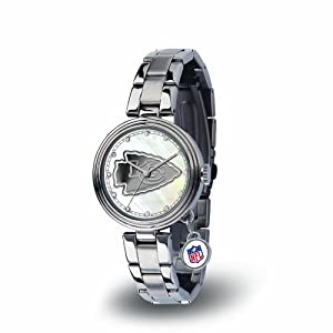 NFL Charm Watch Silver by Rico Tag