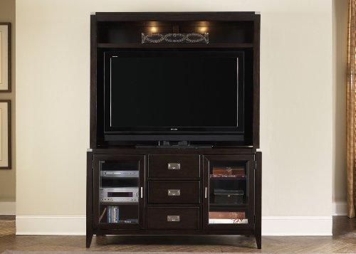 Liberty Furniture Harbor Town Tv Stand & Hutch 349-TV00,349-EC00