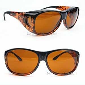 Eschenbach Solar Shields Sun Glasses Amber Filter Medium