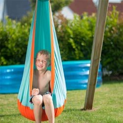 Outdoor Hanging Crow's Nest for Kids