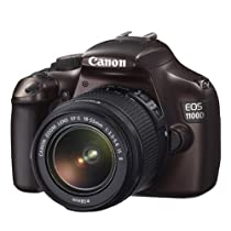 Canon EOS 1100D DSLR Camera and 18-55mm IS II Lens Kit (Brown)