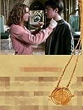 あなたが主役 ハリー・ポッター 逆転時計 タイムターナー ネックレス ペンダント 全4色 (ホワイト 白)