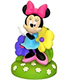 Disney Children's Collectible 10 Rubberized Soft Edge Coin Bank (Minnie and Mickey Mouse)