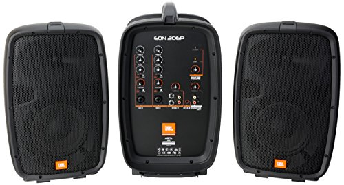 JBL EON206P | Packaged PA System 160W Powered Mixer (Jbl Dj Mixer compare prices)