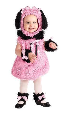 Rubie'S Costume Cuddly Jungle Precious Poodle Jumper Costume, Pink, 12-18 Months front-503693