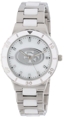 Game Time Women's NFL-PEA-SF San Francisco 49Ers Watch at Amazon.com